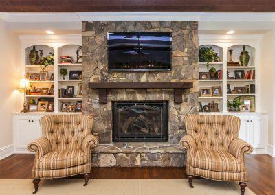 Loyd Builders Abbington Lot 53 006 Living Room Fireplace