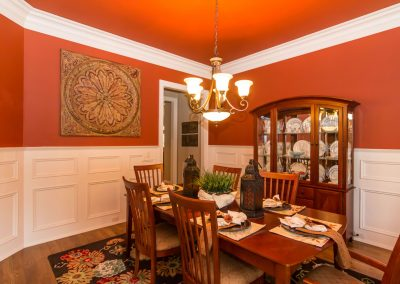 Loyd Builders Chadbourne Lot 15 022 Dining Room