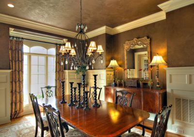 Loyd Builders Colvard Farm Lot 96 007 Dining Room