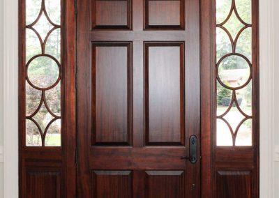 Loyd Builders MacGregor Downs Lot 249 003 Front Door