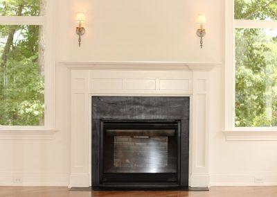 Loyd Builders MacGregor Downs Lot 249 011 Keeping Roon Fireplace