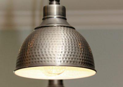 Loyd Builders MacGregor Downs Lot 249 021 Basement Kitchen Lighting
