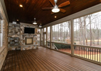 Loyd Builders MacGregor Downs Lot 350 057 Screened Porch2
