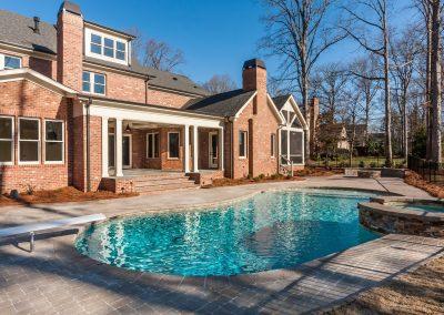 Loyd Builders MacGregor Downs Lot 99 036 Pool