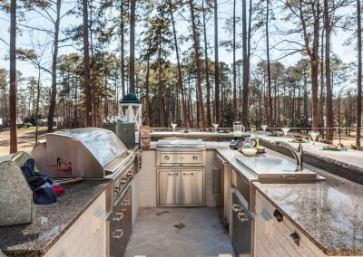 Loyd Builders MacGregor Lot 243 016 Outdoor Kitchen