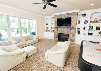 Loyd Builders Newstead Manor Lot 1A 009 Basement Family Room