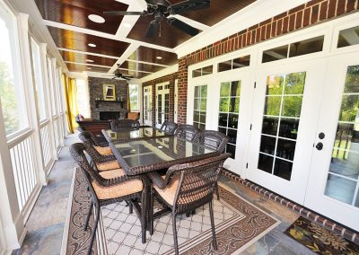 Loyd Builders Newstead Manor Lot 1A 019 Screened Porch