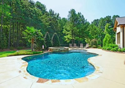 Loyd Builders Newstead Manor Lot 4 024 Pool