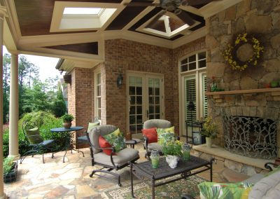 Loyd Builders Newstead Manor Lot 7 034 Covered Patio