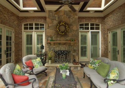 Loyd Builders Newstead Manor Lot 7 035 Covered Patio