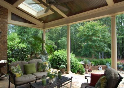 Loyd Builders Newstead Manor Lot 7 036 Covered Patio