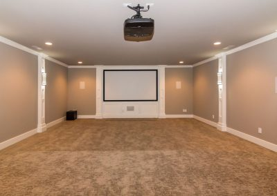 Loyd Builders North Raleigh Mediterranean 025 Theater Room