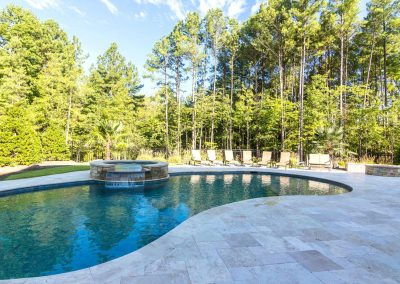 Loyd Builders North Raleigh Mediterranean 031 Pool