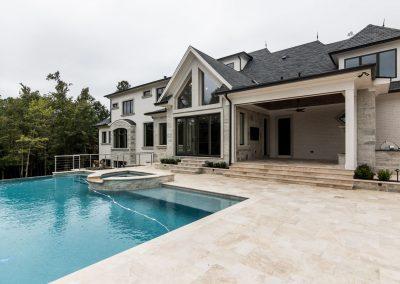 Loyd Builders Rosemont Estate 058 Exterior Back Pool