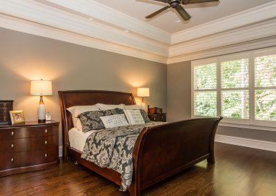 Loyd Builders Umstead Lot 15 015 Master Bedroom