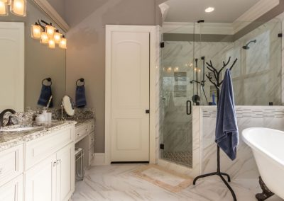 Loyd Builders Umstead Lot 15 019 Master Bathroom
