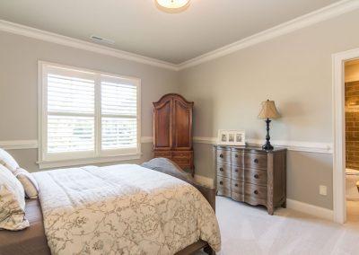 Loyd Builders Umstead Lot 15 021 Bedroom