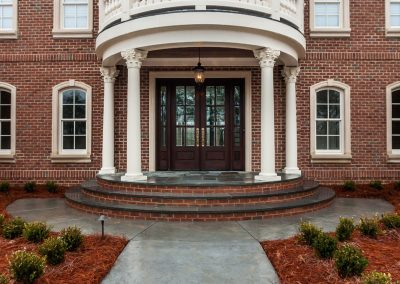 Loyd Builders West Cary Traditional 003 Front Porch