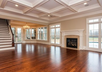 Loyd Builders West Cary Traditional 011 Family Room
