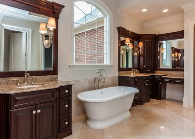 Loyd Builders West Cary Traditional 021 Master Bathroom