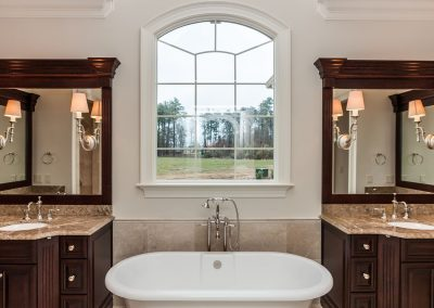 Loyd Builders West Cary Traditional 022 Master Bathroom