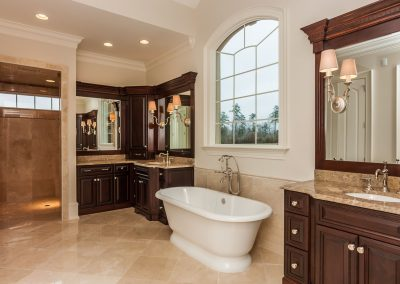Loyd Builders West Cary Traditional 023 Master Bathroom