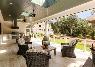 Loyd Builders Bella Vista 041 Screened Porch