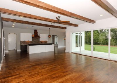 Loyd Builders Lot 37 Colvard Farms 004 Living Room Kitchen