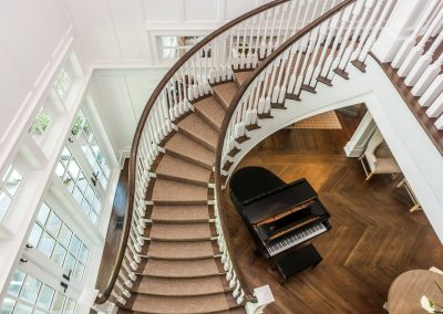 Loyd Builders Chatham County Estate 046 043 Staircase