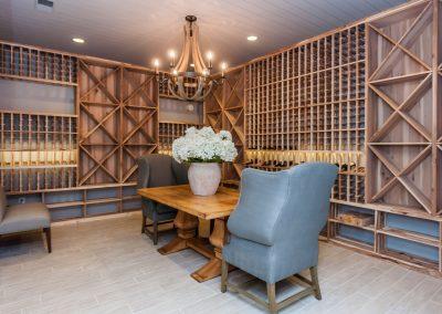 Loyd Builders Chatham County Estate 057 054 Wine Cellar