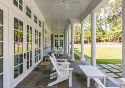 Loyd Builders Chatham County Estate 4 Back Porch