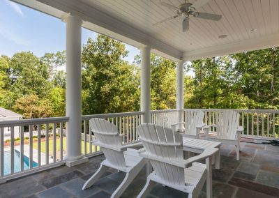 Loyd Builders Chatham County Estate 7 Upper Balcony
