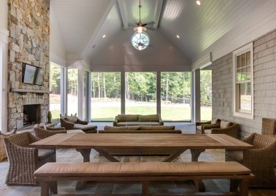 Loyd Builders Chatham County Estate 9 Screen Porch
