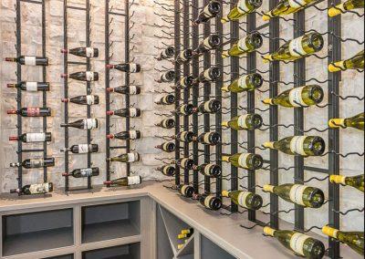 Loyd Builders Colvard Cottage 026 Wine Cellar