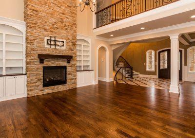 Loyd Builders Hasentree Lot 187 018 Living Room