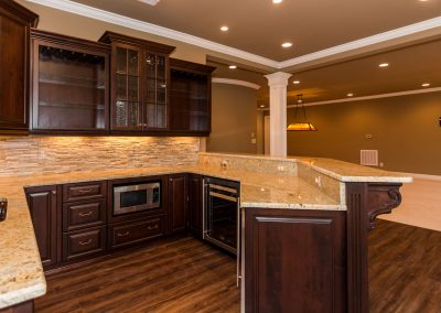 Loyd Builders Hasentree Lot 187 047 Basement Kitchen