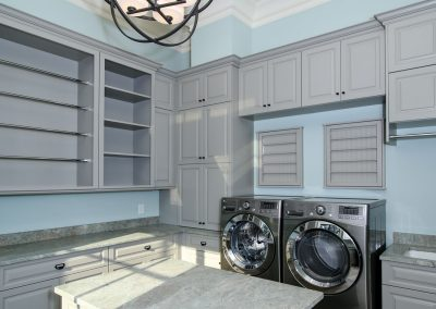Loyd Builders MacGregor Downs Lot 252 018 Laundry Room