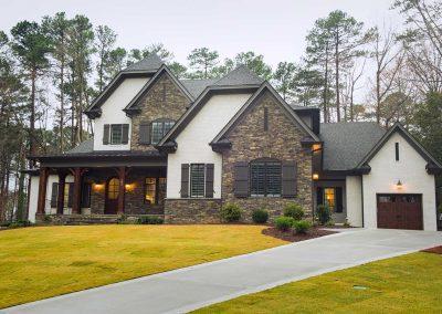 Loyd Builders - MacGregor Lot 266, Custom Home 01